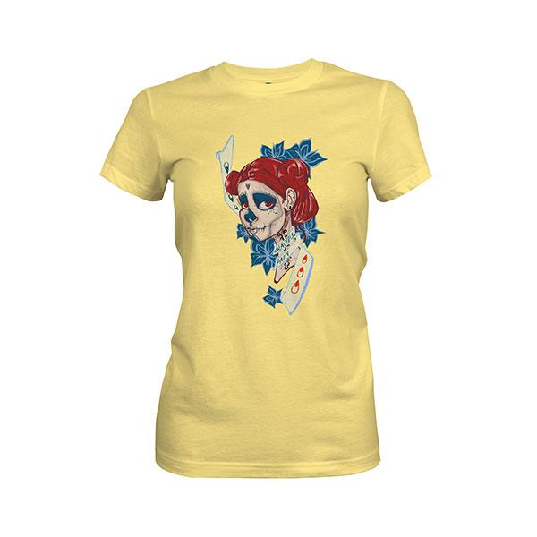 Beautiful Pain T shirt banana cream