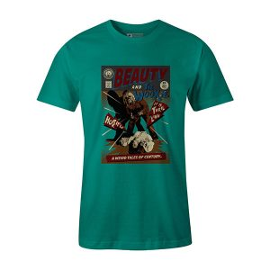 Beauty And The Wookie T shirt teal