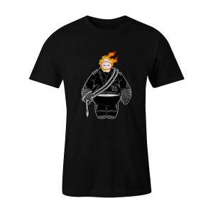 Big Ghost T Shirt Black