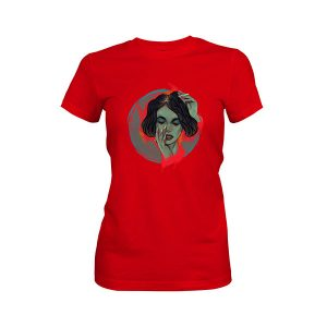 Blow Me T shirt red