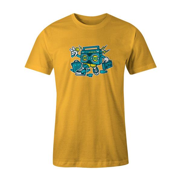 Boombox T Shirt Sunshine
