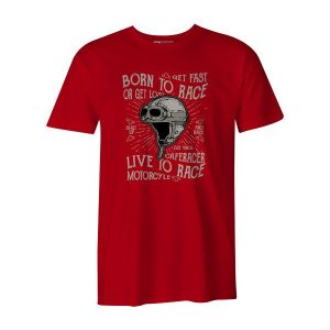 Born To Race T Shirt Red