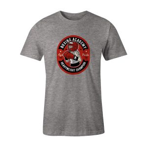 Boxing Academy T Shirt Heather Grey