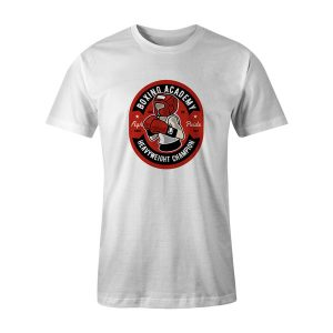 Boxing Academy T Shirt White
