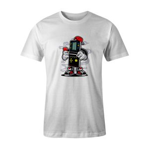 Brick Gamers T Shirt White
