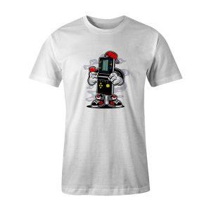 Brick Gamers T Shirt White