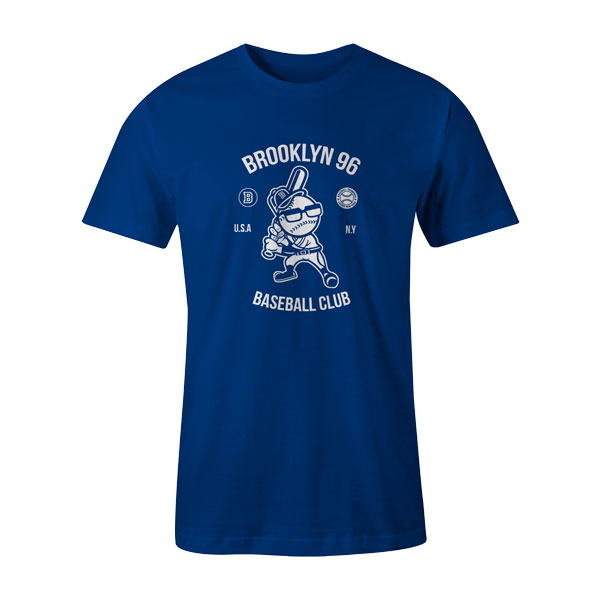 Brooklyn Baseball T Shirt Royal