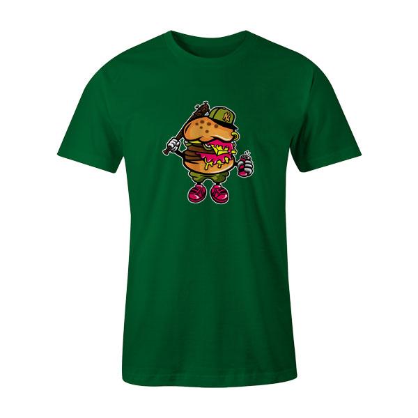 Burger Bastard T Shirt Kelly