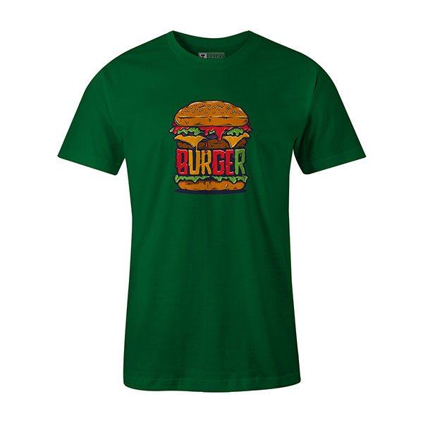 Burger T shirt kelly