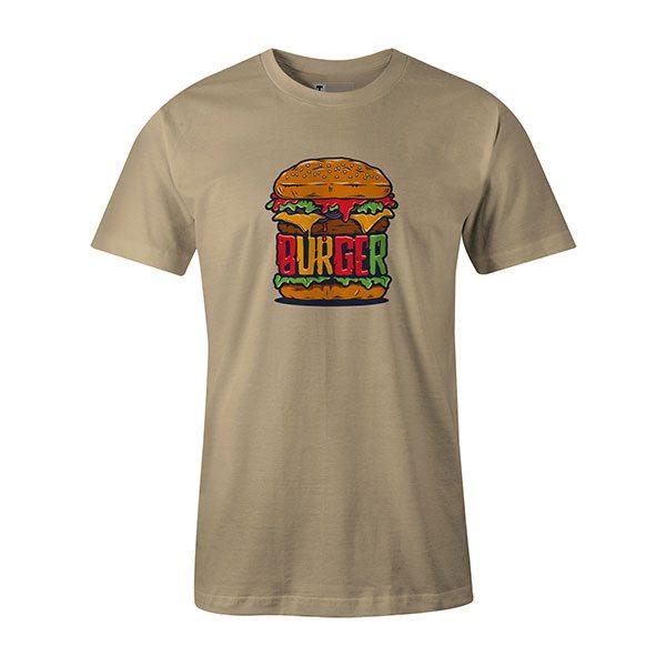 Burger T shirt natural