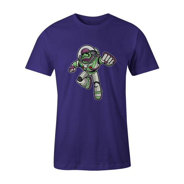 Buzz Trooper T Shirt Purple