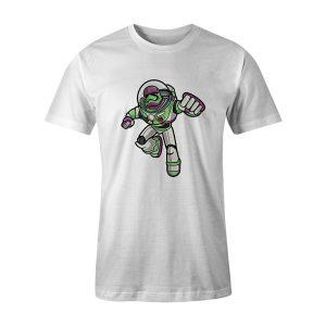 Buzz Trooper T Shirt White
