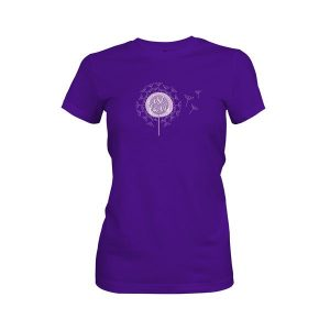 CEst La Vie T Shirt Purple Rush