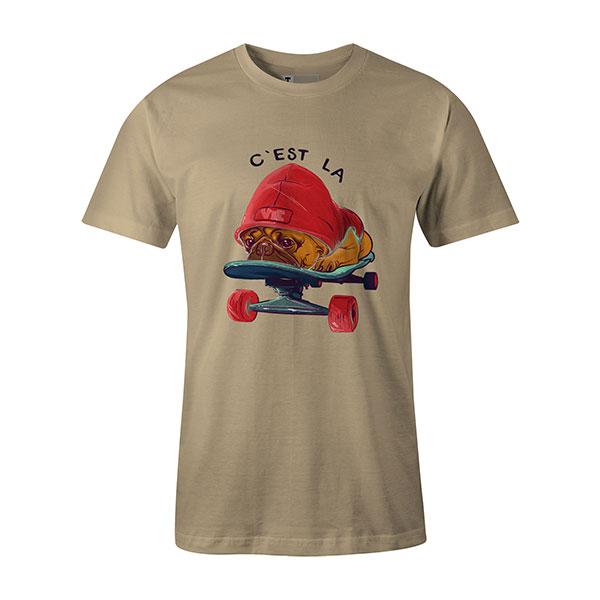 C est La Vie T shirt natural