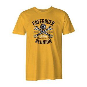 Cafe Racer Reunion T Shirt Sunshine
