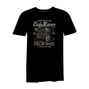 Caferacer 79 T Shirt Black
