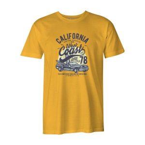 California West Coast T Shirt Sunshine