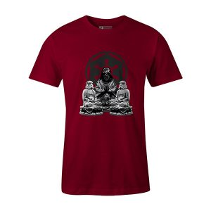 Calm Imperial T shirt cardinal
