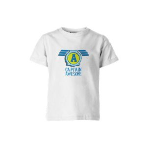 Captain Awesome T Shirt White