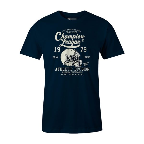 Champion League T Shirt Navy