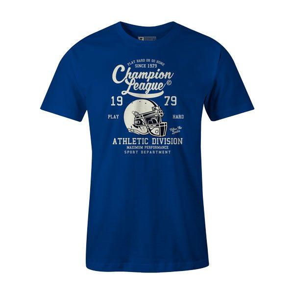 Champion League T Shirt Royal