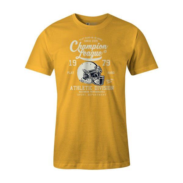 Champion League T Shirt Sunshine