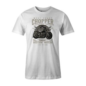Chopper T Shirt White