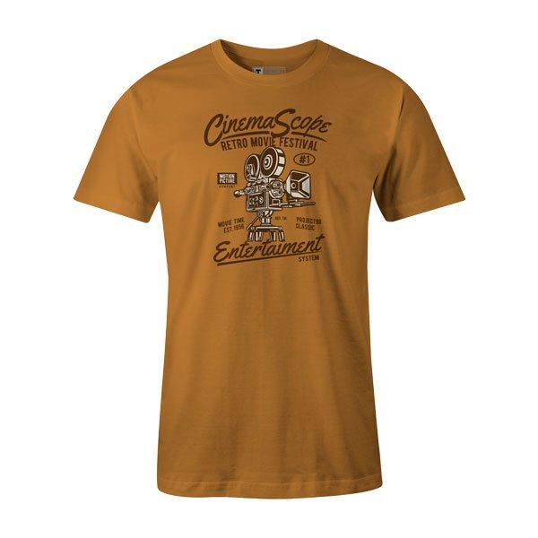 Cinema Scope T Shirt Ginger