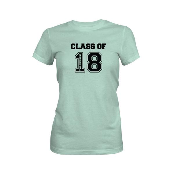 Class of 2018 T Shirt Mint