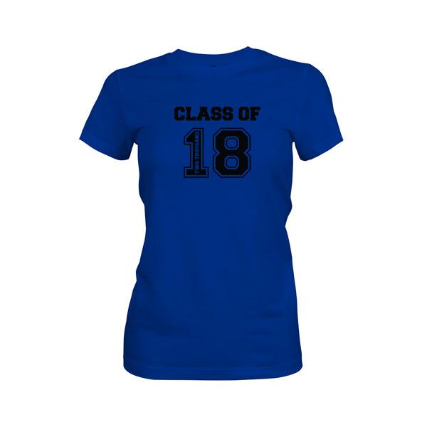 Class of 2018 T Shirt Royal