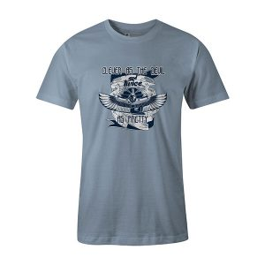 Clever As The Devil And Twice As Pretty T shirt baby blue