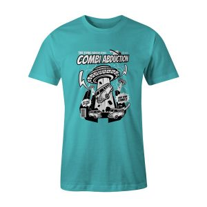 Combi Abduction T Shirt Aqua