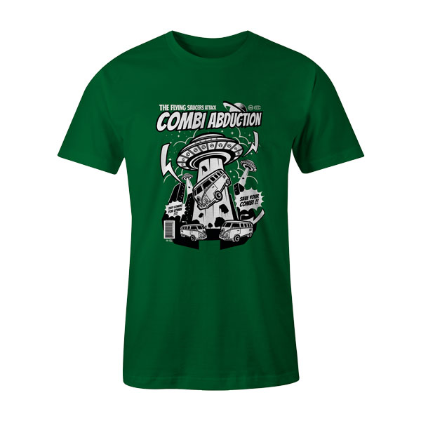 Combi Abduction T Shirt Kelly