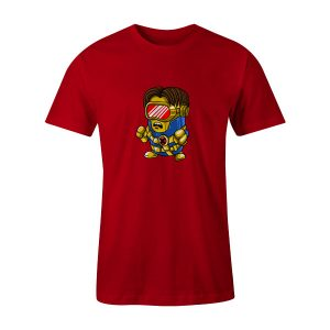 Cyclops Minion T Shirt Red