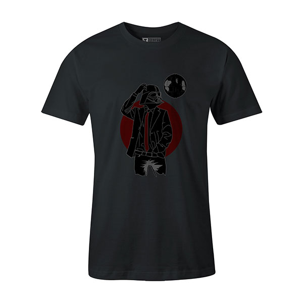 Darth Dapper T shirt coal