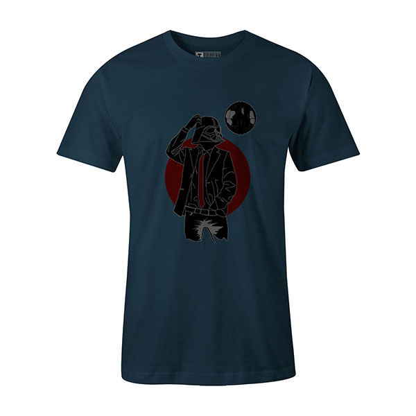 Darth Dapper T shirt indigo