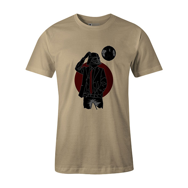 Darth Dapper T shirt natural