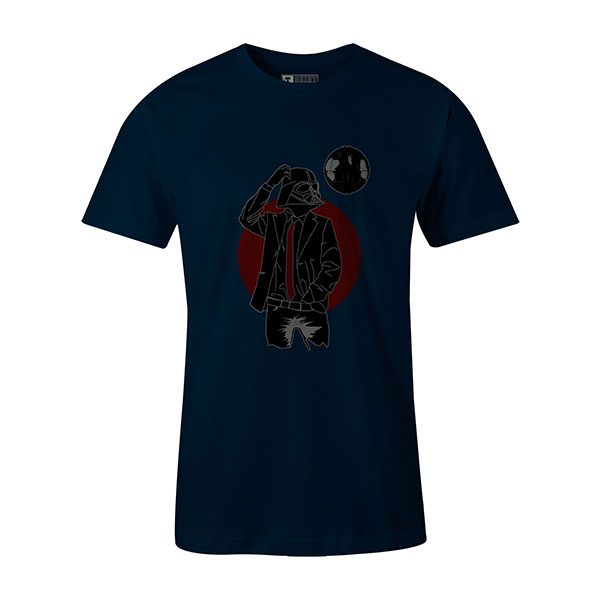 Darth Dapper T shirt navy