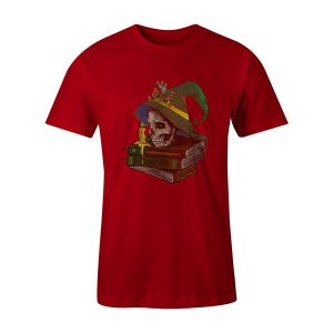 Deaths Night T shirt red