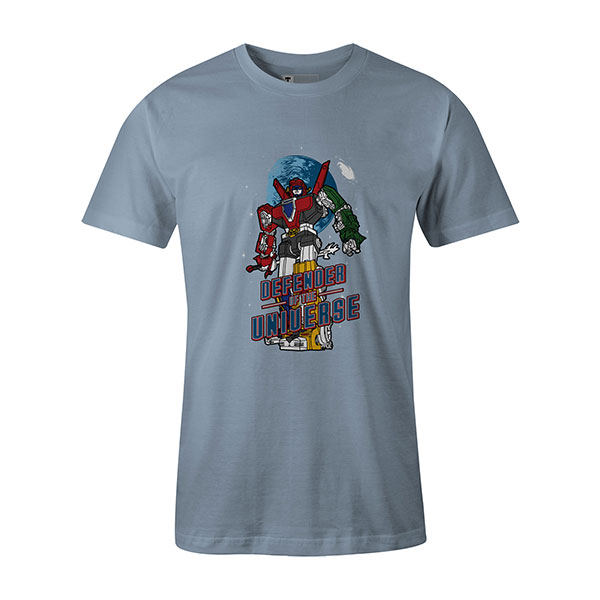 Defender of the Universe T shirt baby blue
