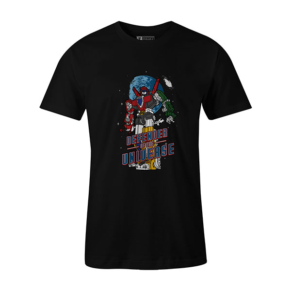 Defender of the Universe T shirt black