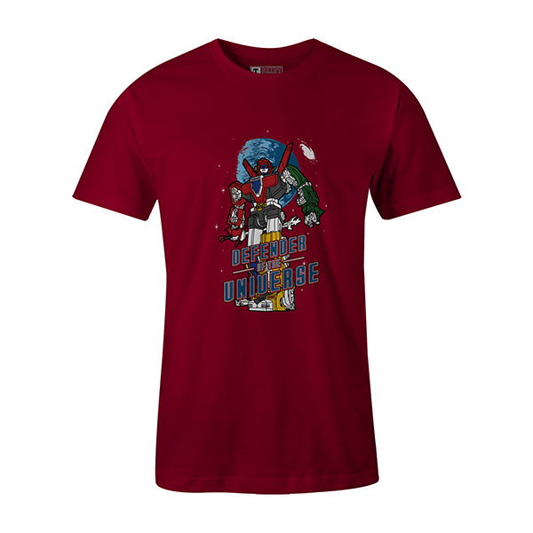 Defender of the Universe T shirt cardinal