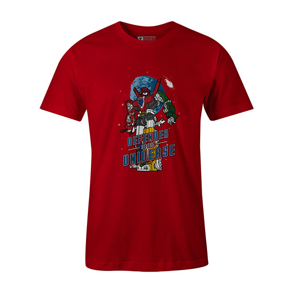 Defender of the Universe T shirt red