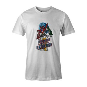Defender of the Universe T shirt white