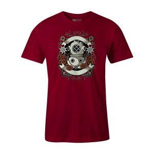 Diver T Shirt Cardinal