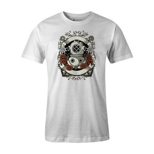 Diver T Shirt White
