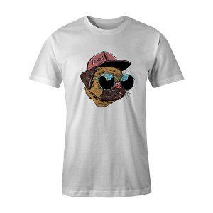 Dogs T shirt white