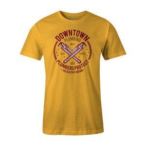Downtown Plumbing T Shirt Sunshine