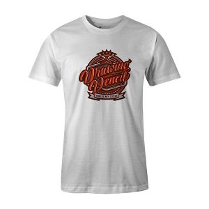Drawing Pencil T shirt white