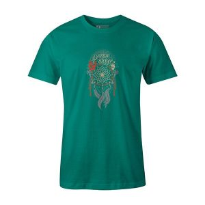 Dream Catcher T shirt teal